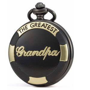 """Other - Black&Gold """"The Greatest Grandpa"""" Pocket Watch"""